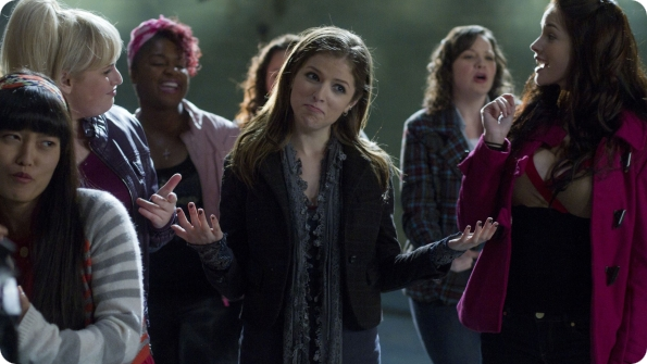 Review of the movie Pitch Perfect with Anna Kendrick