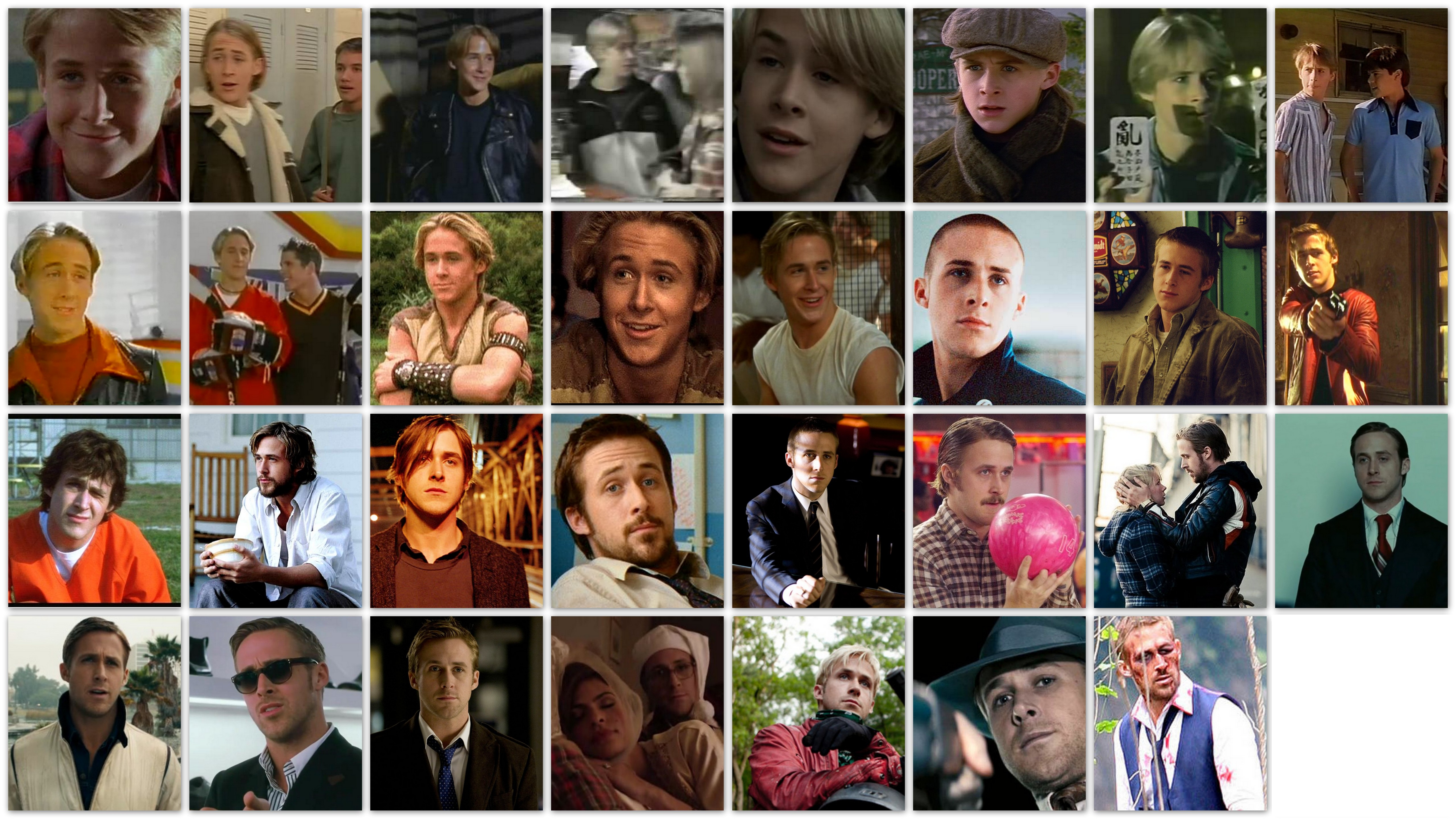 overview roles Ryan Gosling, career, movies