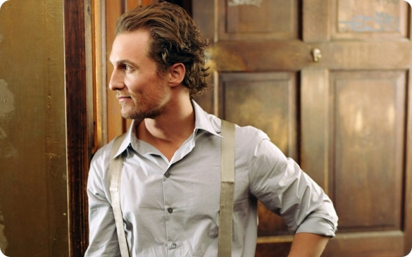 Overview in pictures of the roles of actor Matthew McConaughey