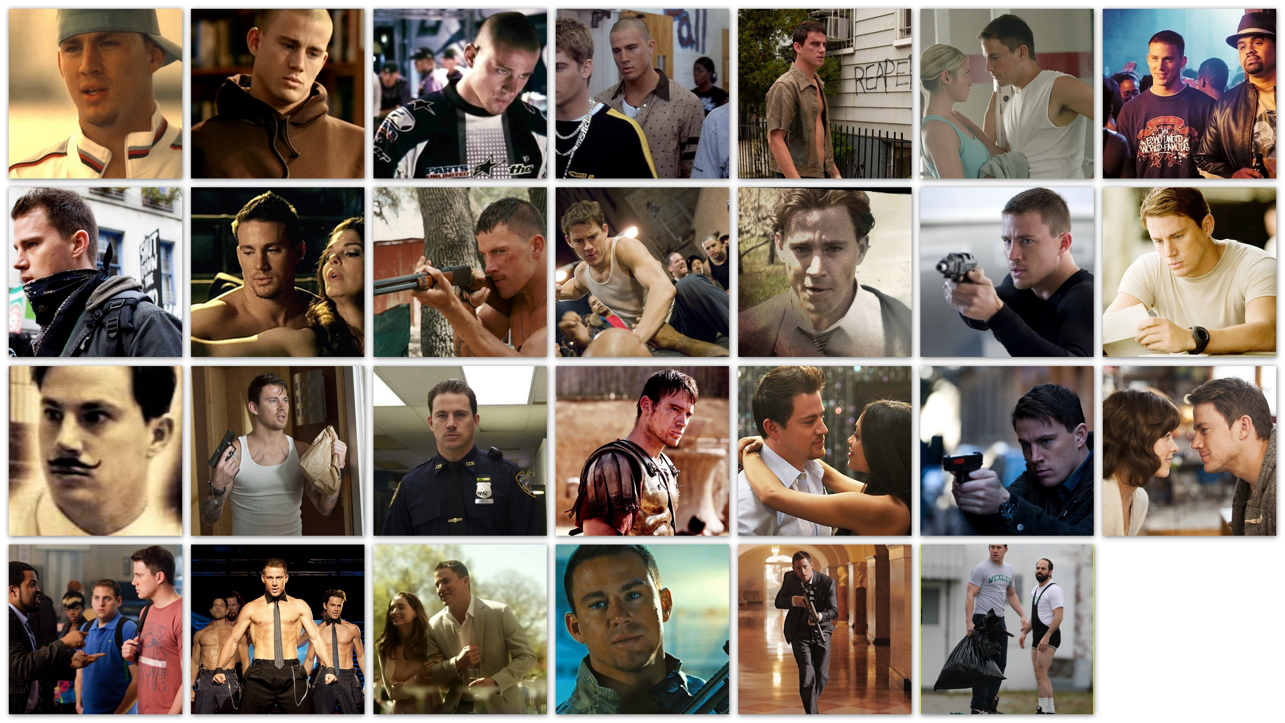 Overview of the roles and movies of Channing Tatum