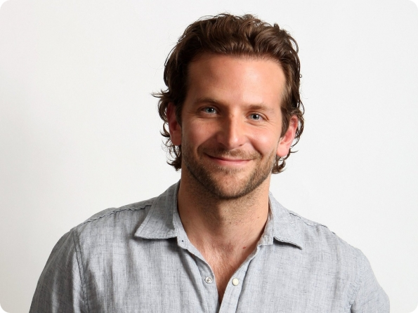 Overview in pictures of all the roles of actor Bradley Cooper
