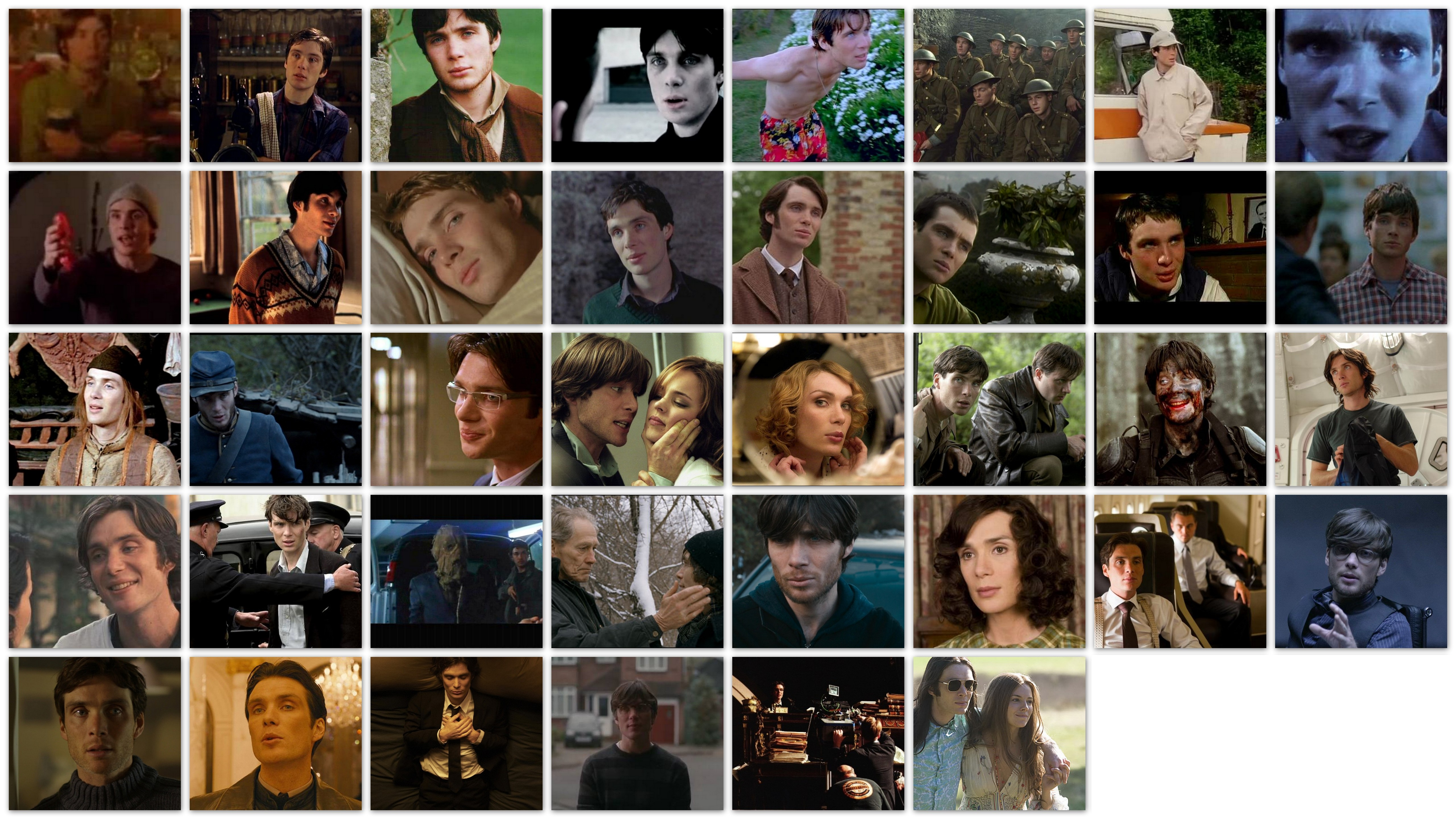 overview roles Cillian Murphy