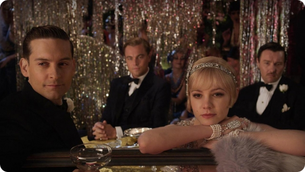 Review of The Great Gatsby starring Leonardo DiCaprio and Carey Mulligan