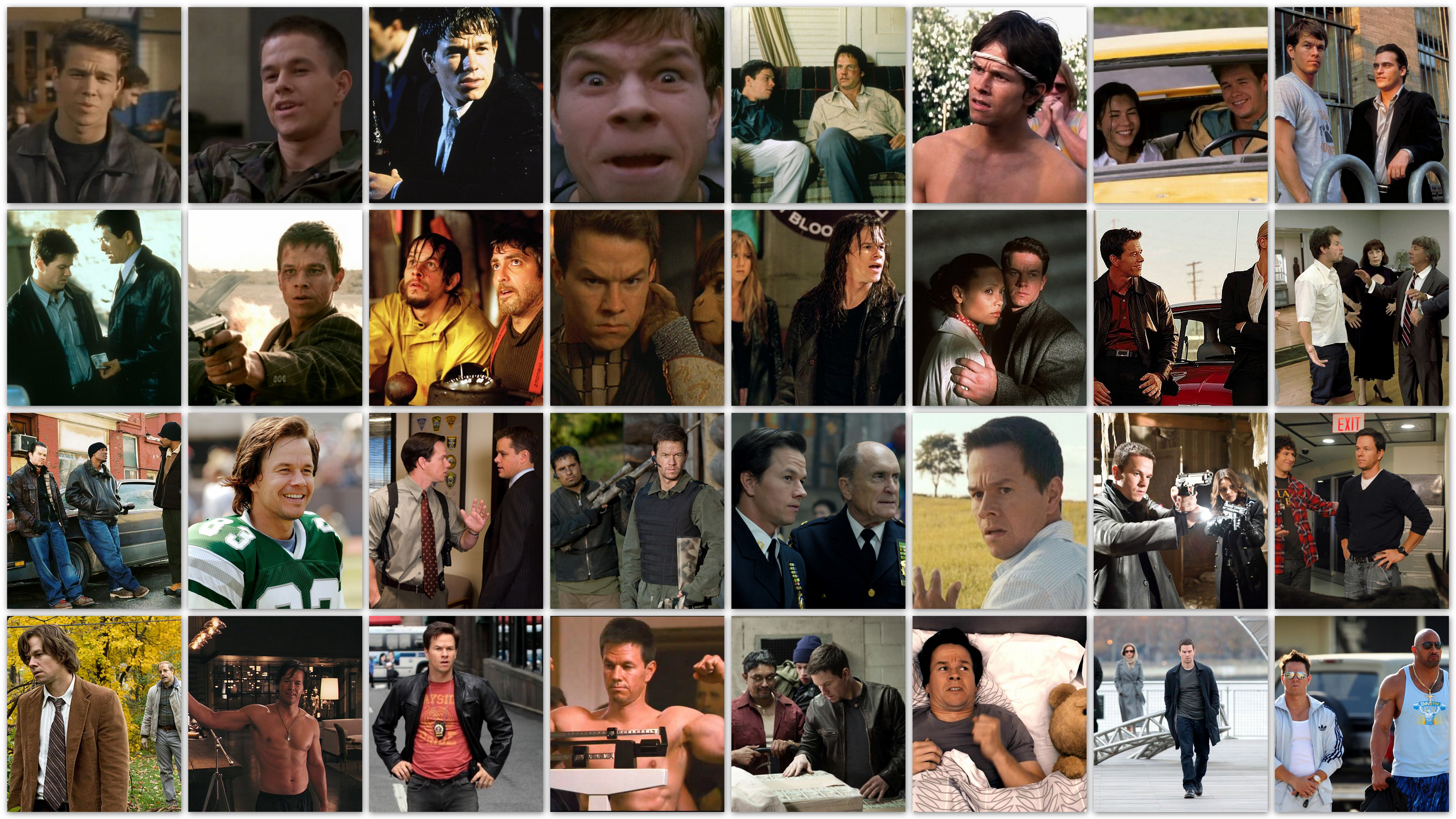 overview roles Mark Wahlberg movies