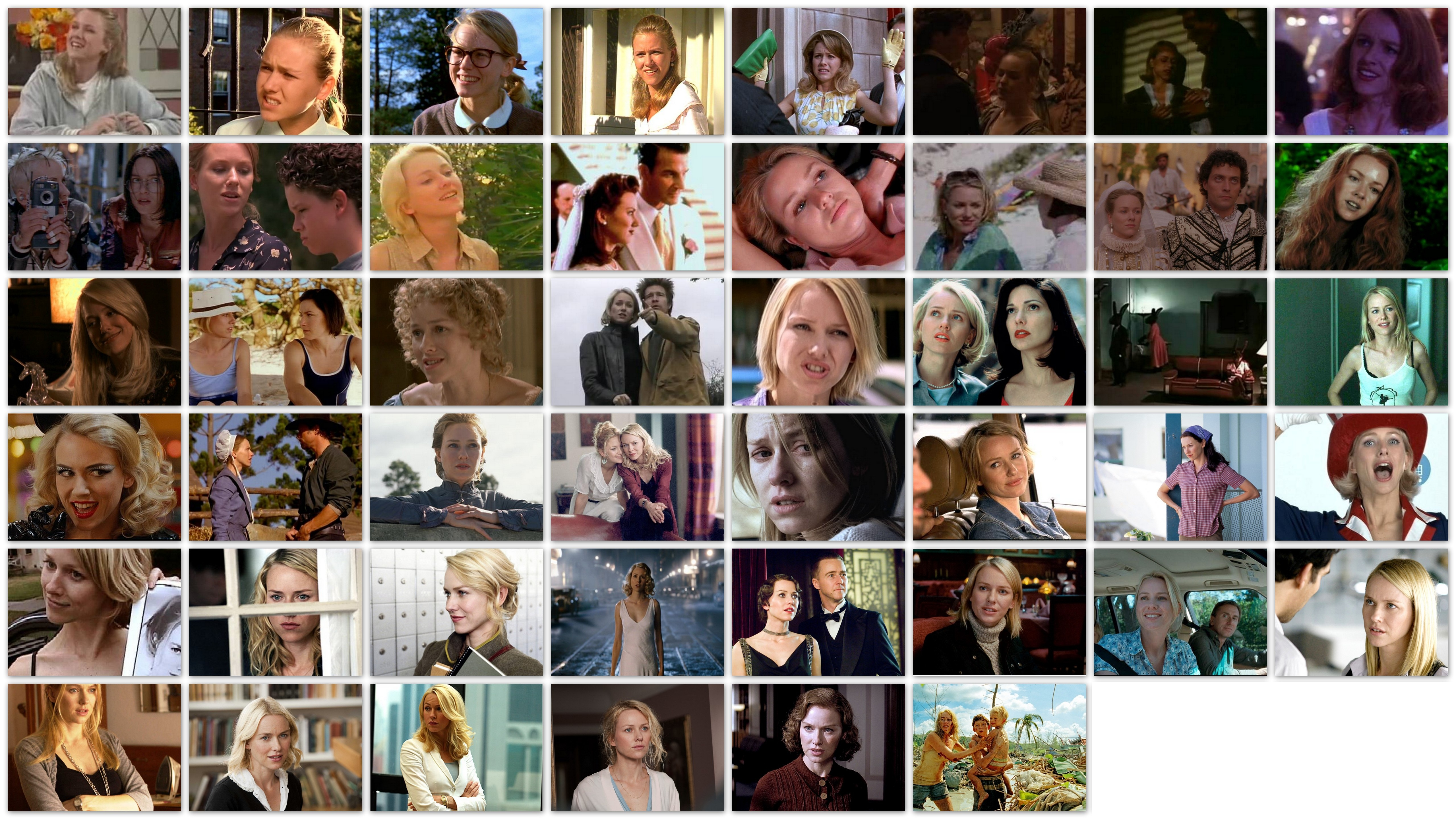 Overview roles movies Naomi Watts