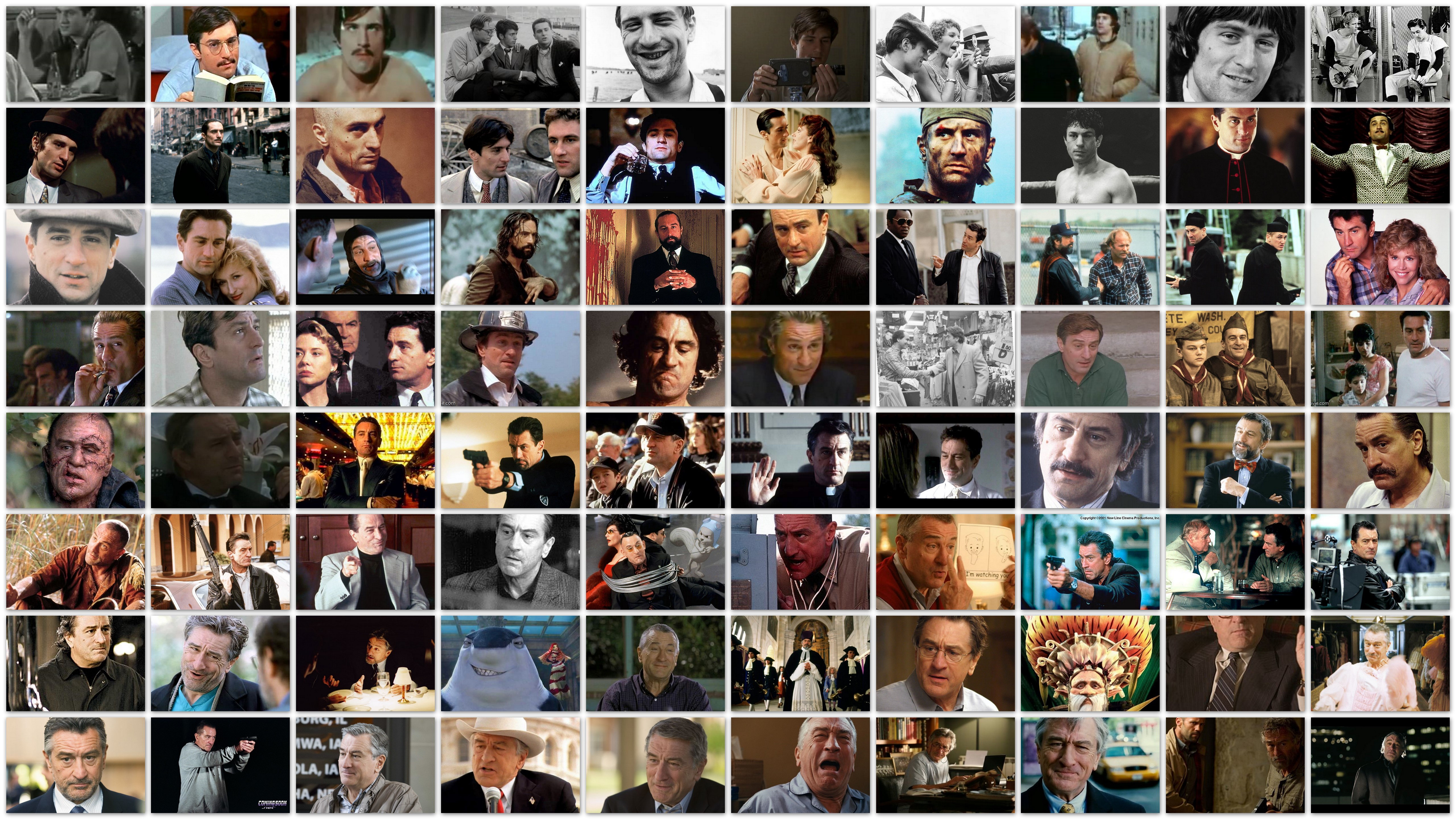 The Many Faces of...Robert de Niro
