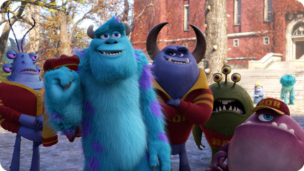 Review of Monsters University (2013)