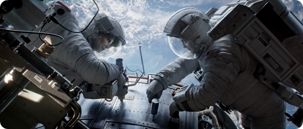 Review of the movie Gravity