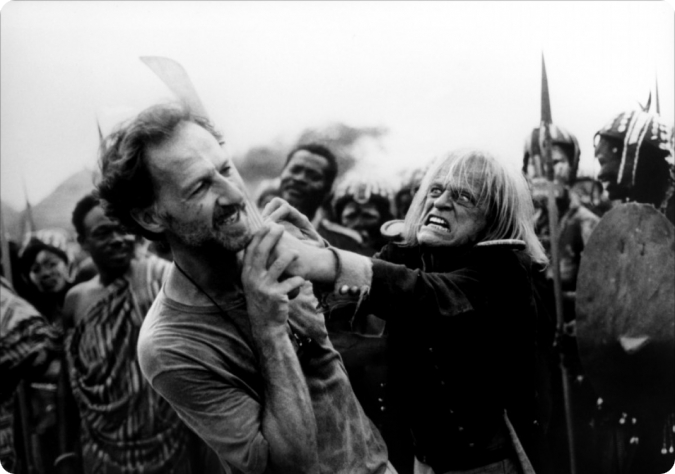 Review of the documentary about Klaus Kinski by Werner Herzog