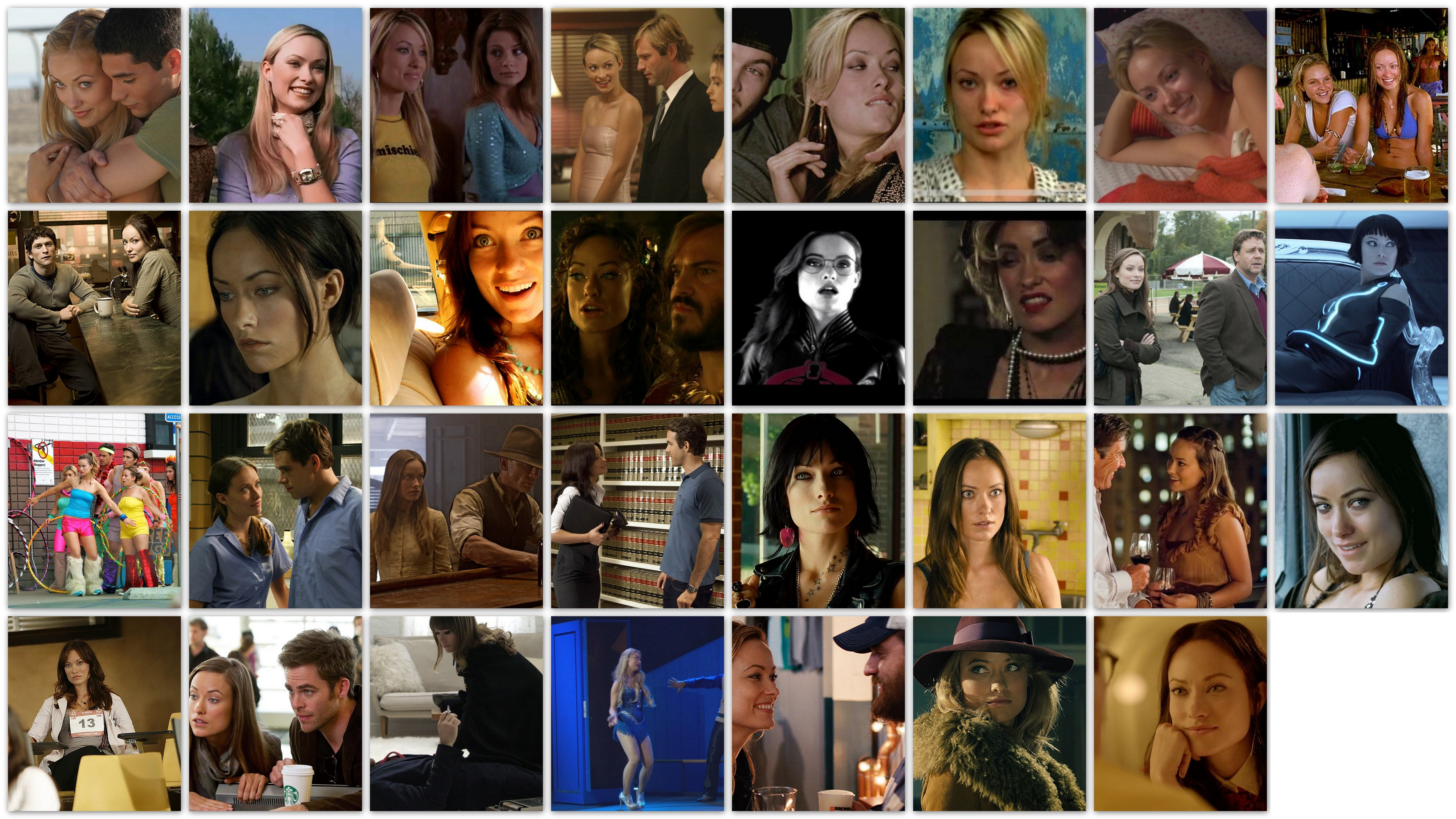 overview roles movies Olivia Wilde