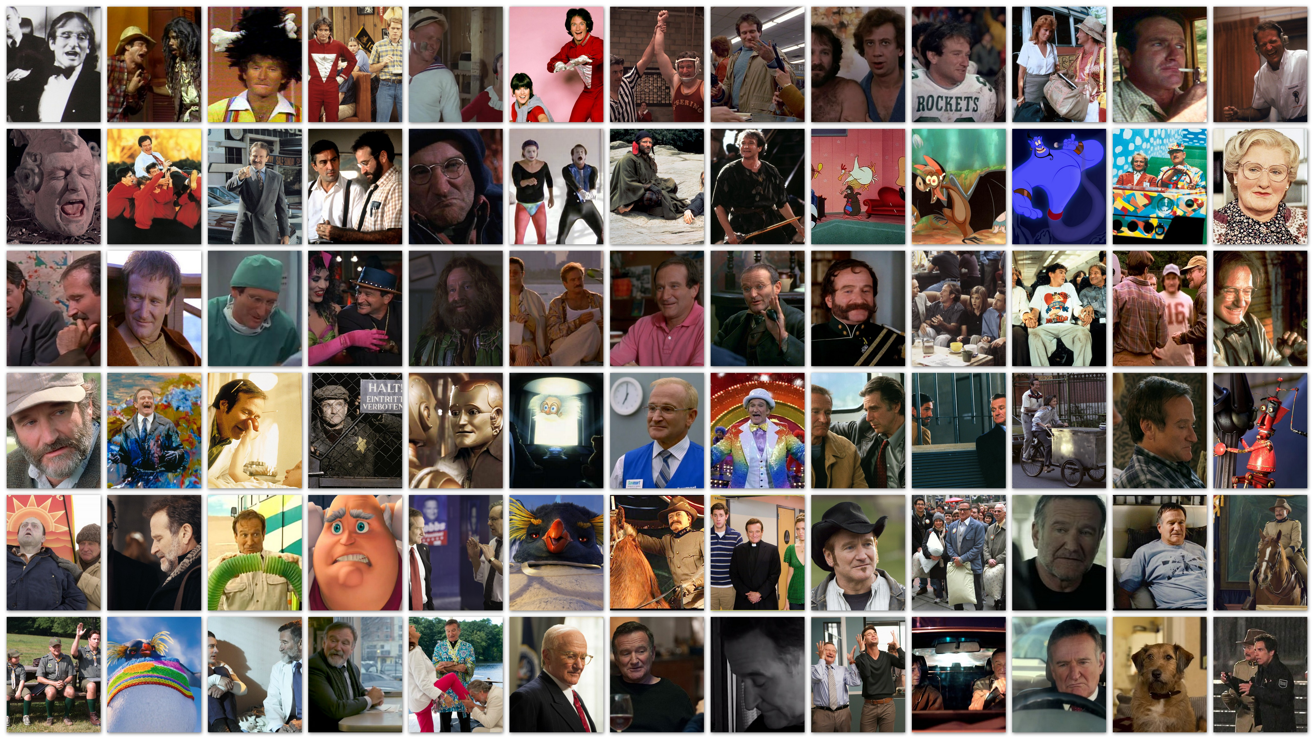 The Many Faces of… Robin Williams | My Filmviews Bruce Willis Filmography