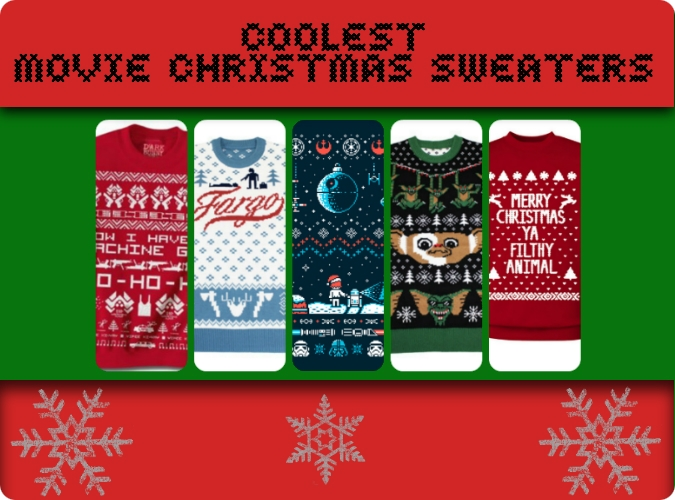 Coolest movie Christmas sweaters | My Filmviews