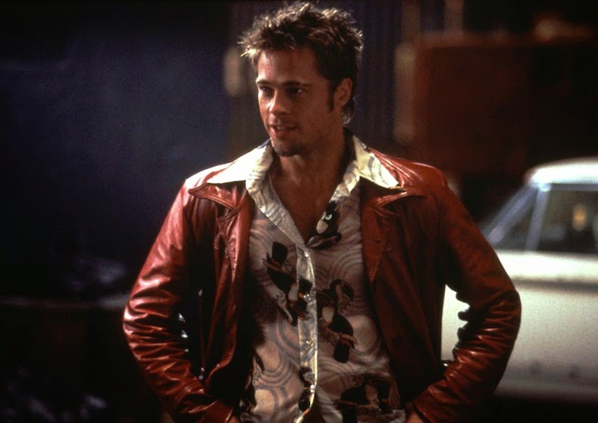 brad pitt fight club buzz cut - photo #24