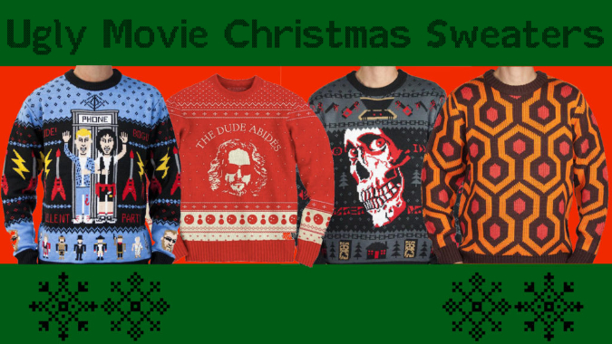 Ugly movie christmas sweaters